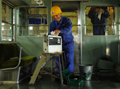 「GABOMI 写真展「ことでん 仏生山工場」